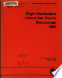 Flight mechanics estimation theory symposium 1995