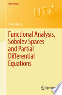 Functional Analysis  Sobolev Spaces and Partial Differential Equations