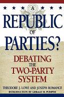 A Republic of Parties