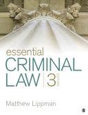 Essential Criminal Law [Pdf/ePub] eBook