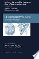 Epilepsy  An Issue of Neurosurgery Clinics   E Book Book