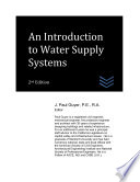 An Introduction to Water Supply Systems Book