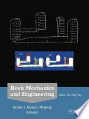 Rock Mechanics and Engineering Volume 3