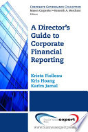 A Director S Guide To Corporate Financial Reporting