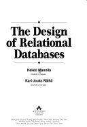 The Design of Relational Databases Book