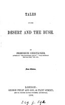 Tales of the desert and the bush, from the German