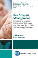Key Account Management Book