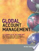 Global Account Management Book
