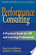 Performance Consulting Book