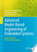 Advanced Model Based Engineering of Embedded Systems Book
