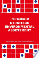 The Practice of Strategic Environmental Assessment Book