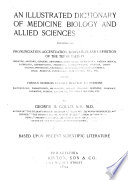An Illustrated Dictionary Of Medicine Biology And Allied Sciences Book PDF