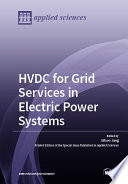 HVDC for Grid Services in Electric Power Systems