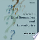 Compendium of Questionnaires and Inventories