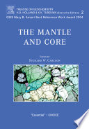 The Mantle And Core Book PDF