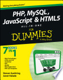 PHP  MySQL  JavaScript   HTML5 All in One For Dummies Book