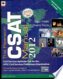 The Pearson Csat Manual 2012
