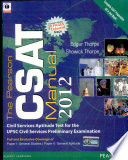 """The Pearson CSAT Manual 2012"" by Edgar Thorpe"