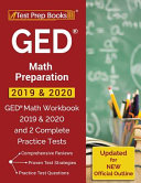 GED Math Preparation 2019   2020