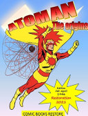 Atoman Superhero  the Comic Book