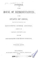 Journal of the House of Representatives of the State of Ohio Book PDF