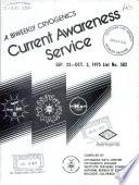 A Biweekly Cryogenics Current Awareness Service Book