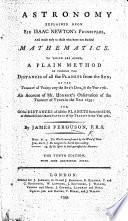 Astronomy Explained Upon Sir Isaac Newton s Principles Book PDF