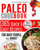 Paleo Cookbook for Beginners Book PDF