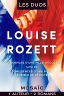 Les duos - Louise Rozett (2 romans)