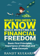 What You Need to Know While Investing for Financial Freedom