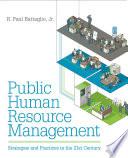 Public Human Resource Management Book