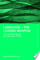 Language     The Loaded Weapon