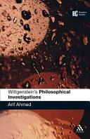 Wittgenstein s  Philosophical Investigations