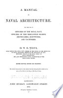 A Manual Of Naval Architecture Book PDF