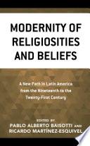 Modernity Of Religiosities And Beliefs