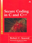 Secure Coding in C and C   Book