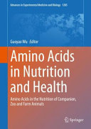 Amino Acids in Nutrition and Health