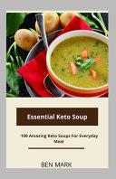 Essential Keto Soups Book