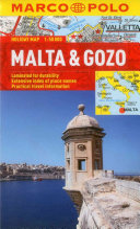 Marco Polo Holiday Map Malta & Gozo