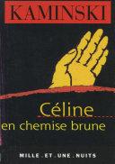 Pdf Céline en chemise brune Telecharger