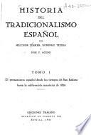 Historia del tradicionalismo español