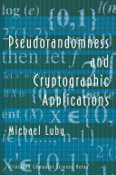 Pseudorandomness and Cryptographic Applications