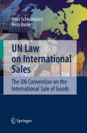 Pdf UN Law on International Sales