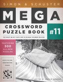Simon   Schuster Mega Crossword Puzzle Book  11