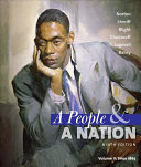 A People and a Nation  A History of the United States  Volume II  Since 1865 Book PDF