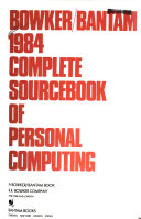 1984 Complete Sourcebook of Personal Computing