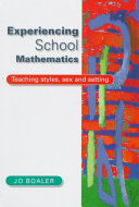 Cover of Experiencing School Mathematics