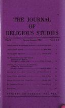 Journal of Religious Studies