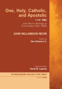 One, Holy, Catholic, and Apostolic, Tome 2