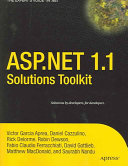 ASP NET 1 1 Solutions Toolkit